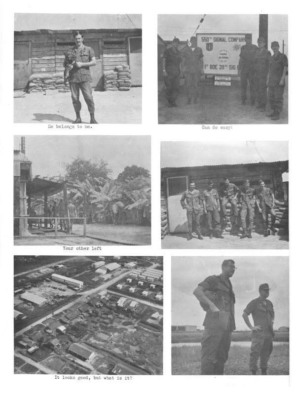 the 550th signal company can tho army airfield vietnam