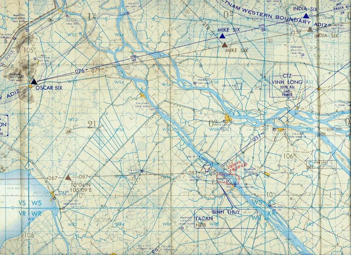 Grognews Military Maps Can Tho Army Airfield Vietnam - Us-army-maps-india
